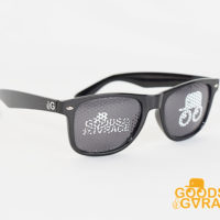 メッシュプリントサングラス レンズプリントサングラス EVG02